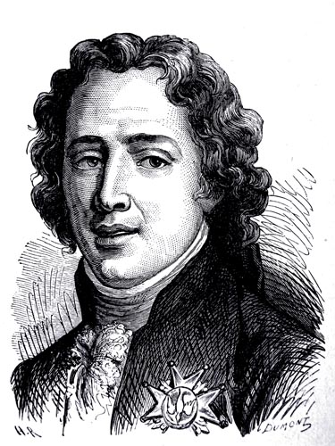 The Comte d'Artois, Engraved by L. Dumont from the Design by H. Rousseau