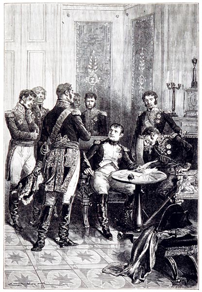'Abdication de l'Empereur Napoléon