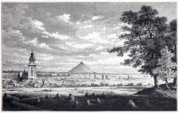 Vue Actuelle de la Plaine de Waterloo