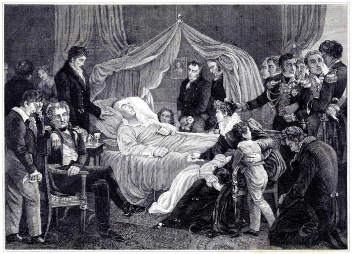 The Deathbed of Napolean