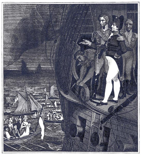Bonaparte on Board the Bellerophon off Plymoth