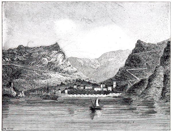 Sainte-Hélène. Vue de James-Town