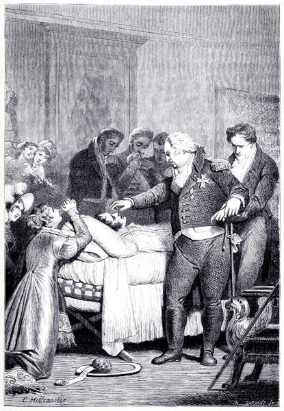 Le Roi Louis XVIII Ferma Lui-Même les Yeux de ce Neveu, qu'il Appelait Son Fils