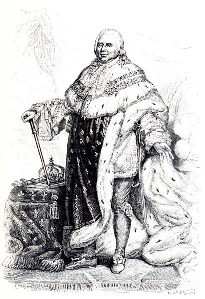 Louis XVIII, d'Après J. L. David