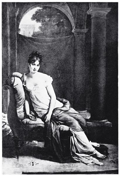 Madame Récamier, d'Après le Portrait Peint par François Gérard