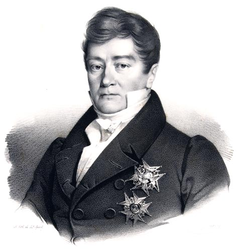 Portrait of Pasquier