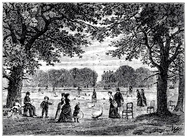 The Round Pond, Kensington Gardens