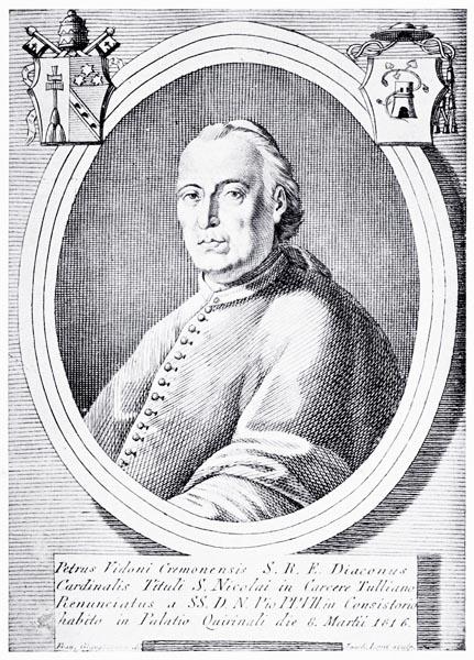 Effigie del Card, Pietro Vidoni III