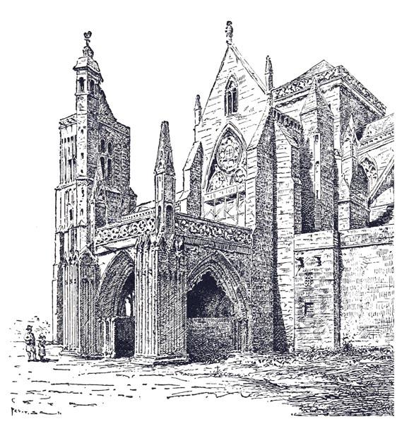 Porche de la Cathédrale de Dol