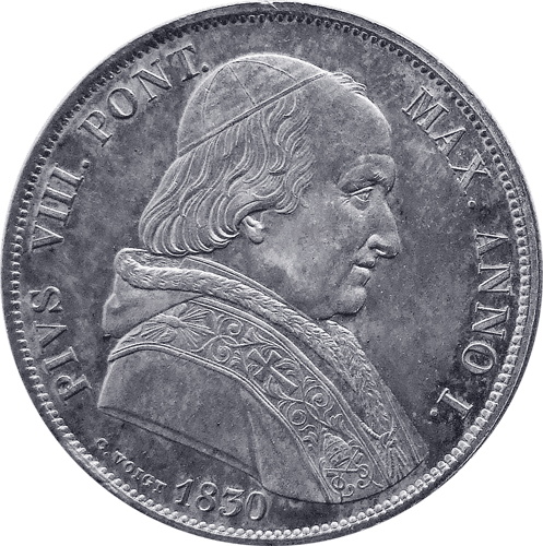 Pope Pius VIII, 1829 - 1830