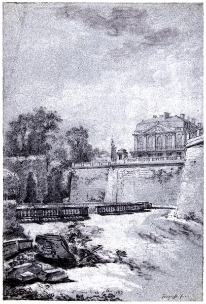 View of the Park and the Castle of Saint-Cloud