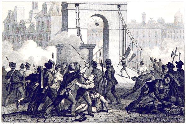 Dévouement du Jeune Darcole (juillet 1830)