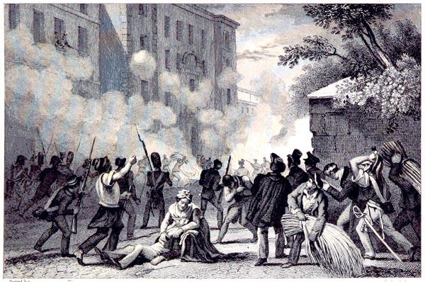 Prise de la Caserne de Babylone (juillet 1830)