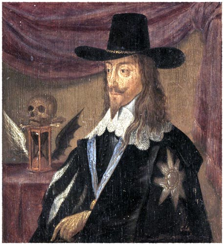 Portrait of Charles I, King of England
