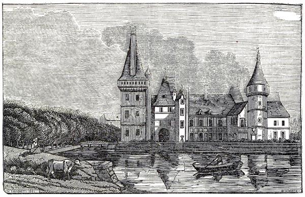 Etat Actuel du Château de Maintenon