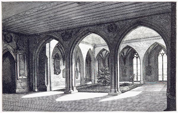 The Cloisters of the Cathedral of Basel
