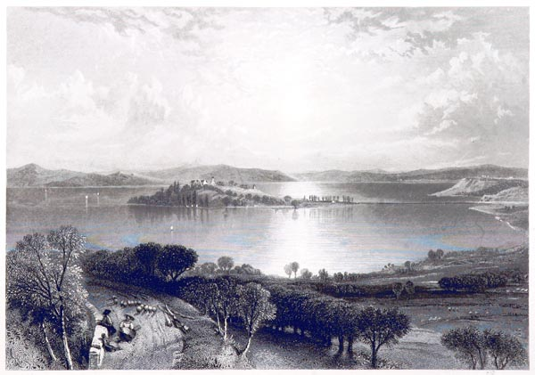 The Lake of Constance and the Island of Mainau