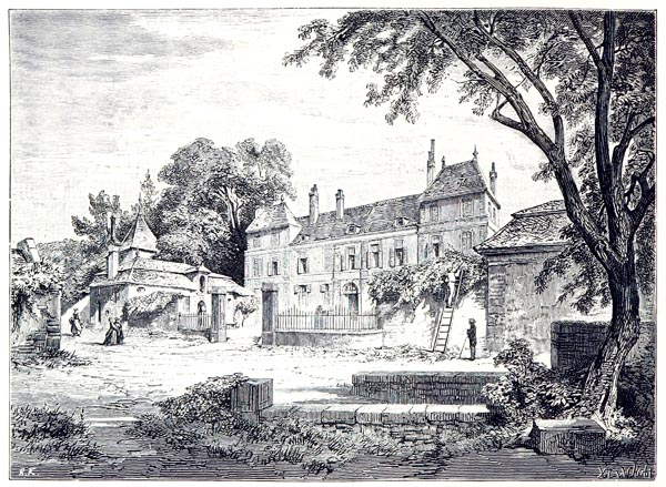 Château of Coppet - the Residence of Necker and of Madame de Staël