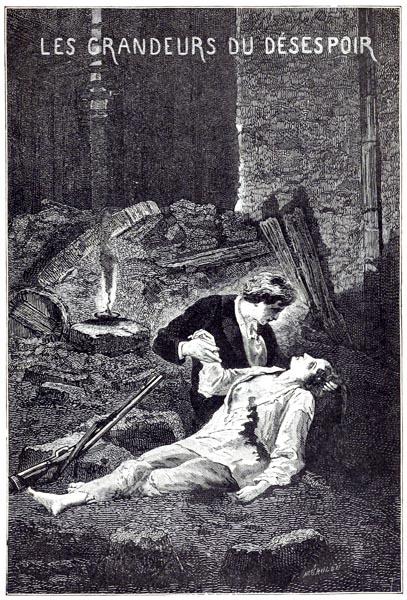 Les Grandeurs de Désespoir, A. de Neuville (Les Misérables p381 vol. 05)
