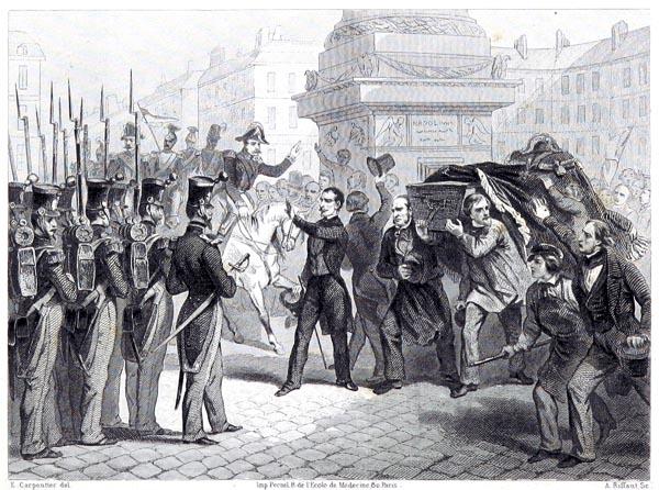 Convoi du Général Lamarque