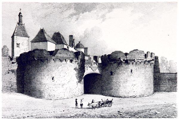 Le Château d'Ancenis, Nantes