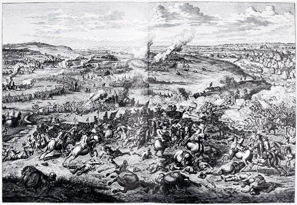 The Battle of Höchstädt, 13th August 1704