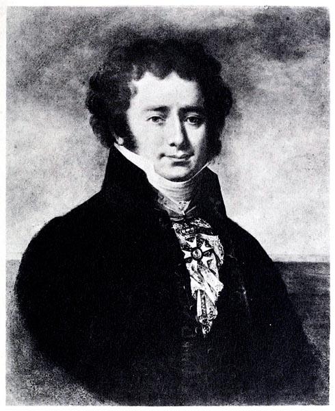 G.-A.-B., Baron Capelle, 1775-1845, Copie d'un Tableau à l'Huile de Robert Fleury