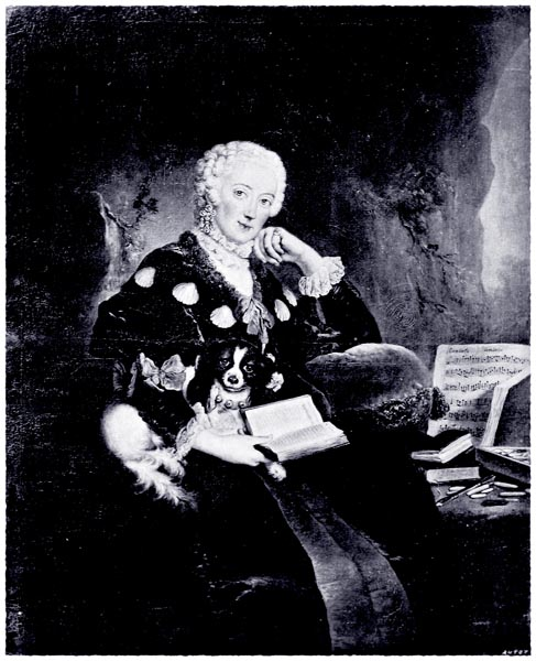 Wilhelmine, Margravine of Baireuth. From the Original Portrait in Berlin