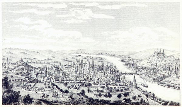 A View of Würzburg at the Time of the Thirty Years' War, 1631