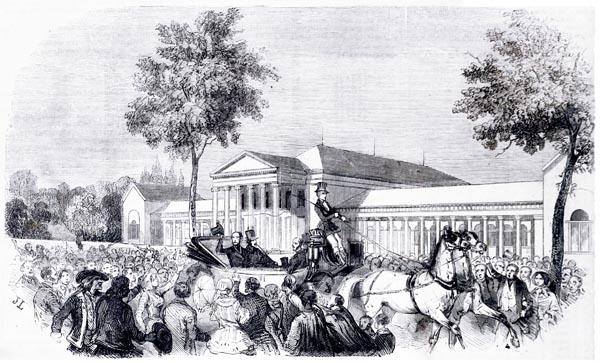 M. le Compte de Chambord à Wiesbaden