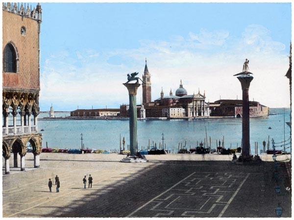 View of San Giorgio Maggiore from San Marco Square in Venice