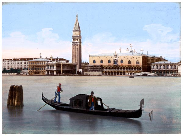 View of the Doge's Palace, Campanile and Surrounding Buildings in Venice