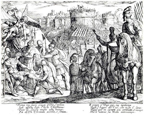 Canto XI, Jerusalem Delivered, by Tasso