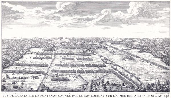 View of the Battle of Fontenoy, 1745