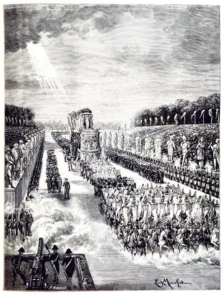 Funérailles de l'Empereur