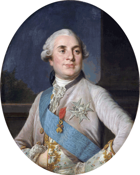 Portrait of Louis XVI, King of France