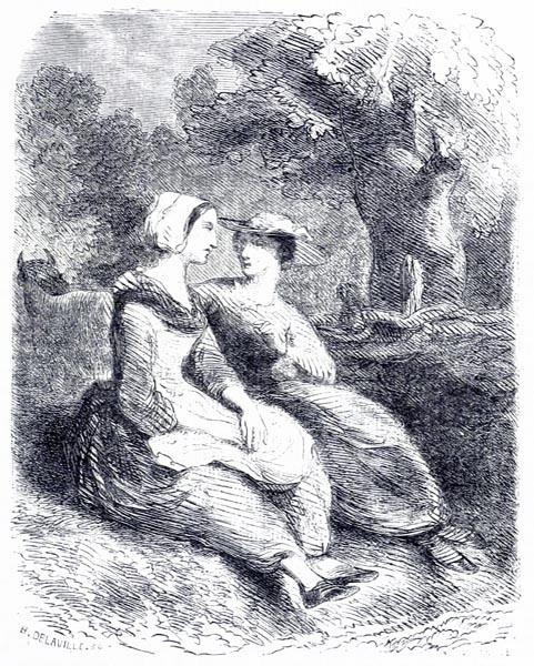 Jeanne, lui Dit la Jeune Gracieus Châtelaine