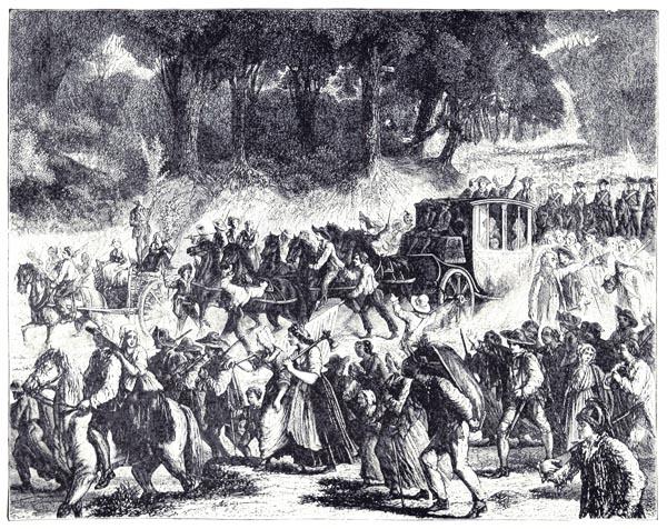 L'Arrivée de la Famille Royale à Paris
