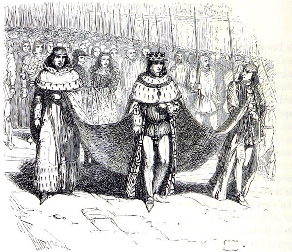 Le Duc de Bretagne Allant Ouvrir les États