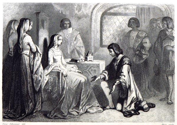 Anne de Bretagne et Louis d'Orléans