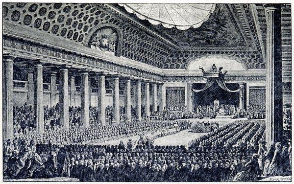Ouverture des États Généraux à Versailles (3 mai 1789)