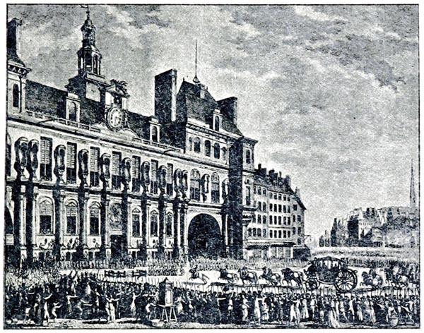 Le Roi Arrivant a l'Hôtel de Ville (17 juillet 1789)