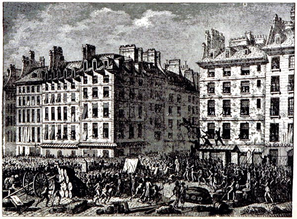 The Terrible Assassination of Foulon, Paris July 1789