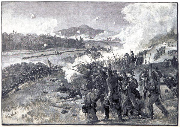 The Battle of Resaca, Georgia