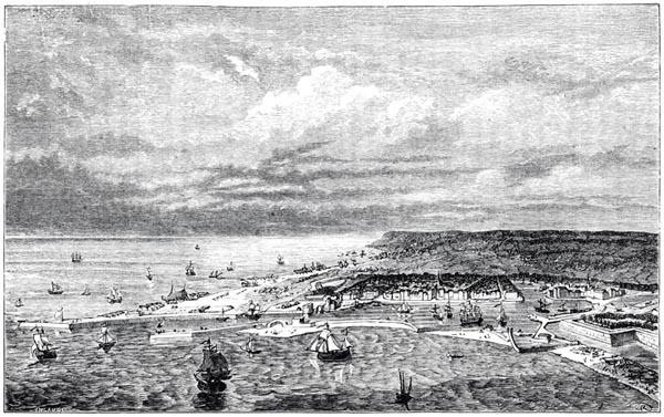 Le Havre en 1779