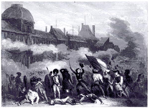 Attack of the Tuileries, 10 August 1792