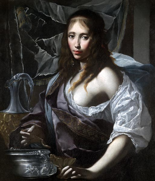 Artemisia Prepares to Drink the Ashes of her Husband, Mausolus