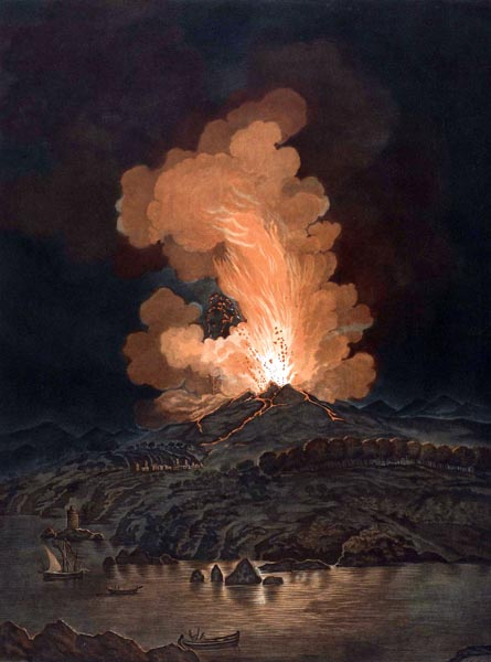 Eruption of Mount Etna, 1766