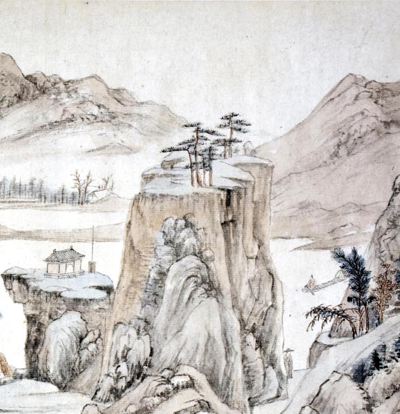 Dream Journey among Rivers and Mountains, Cheng Zhengkui (1604 - 1676)