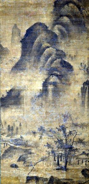 Landscape, Yuan dynasty (1260 - 1368)
